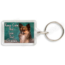 Keep Calm And Love Your Chiwawa – Keyring