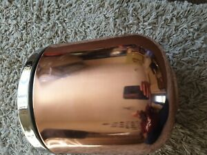 John Lewis COPPER Ice Bucket  SHINY  Free P&P SEE PIC RRP 40 POUNDS