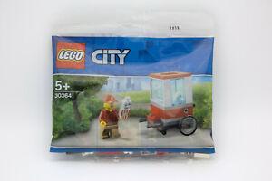 Lego Polybag City 30364 Popcorn Wagen Stand Sparset