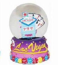 Schneekugel Las Vegas Nevada Welcome Sign Spielautomat Souvenir USA