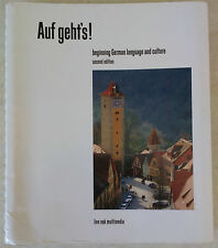Auf Geht's! Beginning German Language And Culture by Lee Forester 2nd Edition