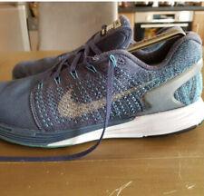 Para hombres Nike Lunarglide 7 Flash Azul H2O repeler entrenadores. UK Size 11