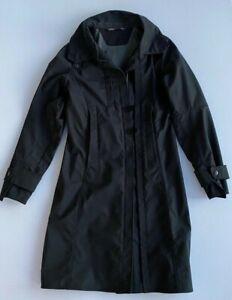 Pre-owned Nau women's coat black size Small