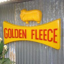 HUGE Golden Fleece Dog Bone Ram Sign  - Petrol Station Garage, Workshop oil SIGN