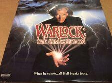 WARLOCK THE ARMAGEDDON LASERDISC HORROR SEALED BRAND NEW