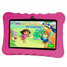 """7"""" Inch Kids Children Tablet For Android 4.4 Early Education Learning Tablet SU"""