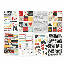 Carpe Diem SAY CHEESE III Planner Stickers (8/pc pack) Disney holiday theme