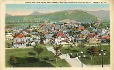 West Virginia, WV, Keyser, Bird's Eye View 1920's Postcard