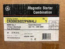 GE CR308C6022PANALJ Magnetic Combo Starter ** New In Box, Free Shipping **
