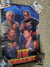 VTG WCW 1996 FOUR HORSEMAN 24x36 POSTER RARE ORIGINAL BRAND NEW ROLLED WWF WWE