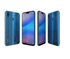 Huawei P20 Lite Blue 32GB Unlocked 4G LTE Andriod Smartphone Pristine A+++