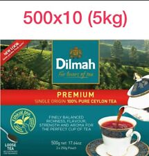 Dilmah Premium Quality Loose Black Ceylon Tea BULK 500g x 10 (5kg)