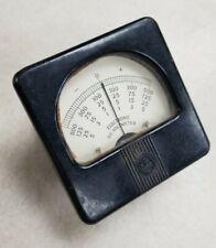 Weston Electronic D C Voltmeter Vintage 0 500 0 125 0 25 0 5 Untested