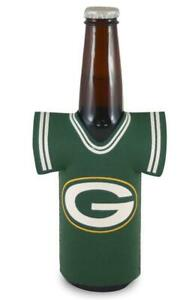 Green Bay Packers Jersey Bottle Coozie [NEW] Kaddy Holder Koozie Drink Cooler