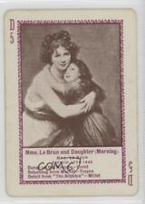 1897 #D5 Mme Le Brun and Daughter (Morning) Non-Sports Card 0w6