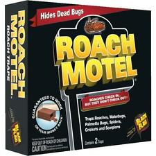 Black Flag Roach Motel Cockroach Killer Bait Glue Traps 1 box has two traps