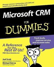 Microsoft CRM for Dummies by Michael DeLisa and Joel Scott (2003, Paperback)