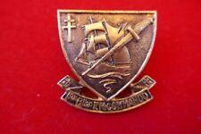 insigne 1° Bllon Fusiliers Marins commando GAUNT 1943