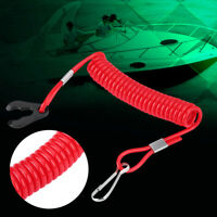 New Red Jet Ski Wave Runner Key Lanyard Stop Kill Switch Safety For Yamaha NEW