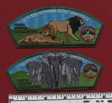 2010 Jamboree Kenya Scouts Association JSP SET (2)