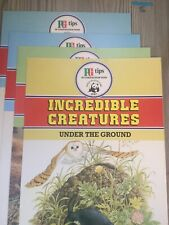 Pg Tips 3 Collectible Incredible Creatures Trading Card Books , On The Land