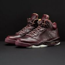Nike Men's Air Jordan 5 Retro Premium Bordeaux Size 13 Uk 49.5 881432-612