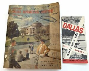 Kennedy Assassination: 1963 Dallas City Directory - Oswald, McDonald, Ruby+