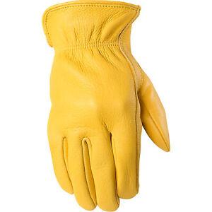 Wells Lamont Full-Grain Deerskin Gloves - 1 Pr Small, Model# 950S