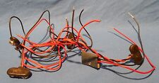 5 NEW 9 VOLT BATTERY ADAPTER WITH WIRES FOR GUITAR WITH ACTIVE ELECTRONICS