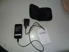 Huawei Ascend II - Black (Tracfone) Smartphone w charger, cord, case, manual