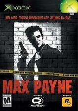 ~* Max Payne Original Xbox Platinum Hits * COMPLETE * playable on Xbox 360