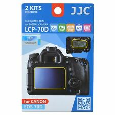 JJC LCP-70D LCD Screen Protector Guard Film Cover for Canon EOS 70D 80D Camera
