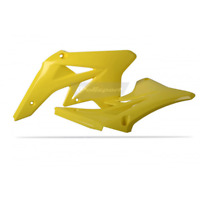 Radiator Shrouds For 2009 Suzuki RMZ250 Offroad Motorcycle Polisport 8428400001