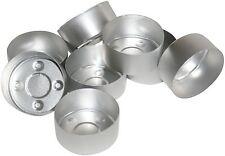 100 Tealight Candela STAMPI. in alluminio. per fare candele tealight