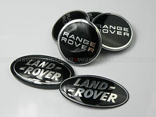 RANGE ROVER SPORT VOGUE SUPERCHARGED ALLOY WHEEL CENTRE CAPS GRILL REAR BADGE