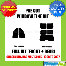 CITROEN BERLINGO MULTISPACE 1998-2007 FULL PRE CUT WINDOW TINT KIT