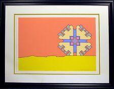 "Peter Max ""Horizon Enigma"" Hand Signed Serigraph pop art 1971 MAKE OFFER!"