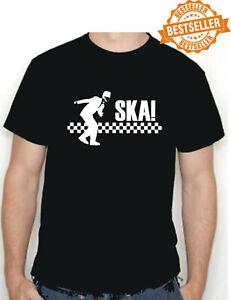 SKA (ref2) T-Shirt / 2TONE / Moped / SKA / MOD / SKINHEAD / Rally / All Sizes