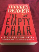 The Empty Chair by Jeffery Deaver (2013, Paperback Book) Lincoln Rhyme