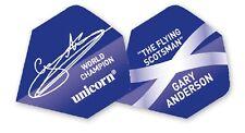 UNICORN GARY ANDERSON WORLD CHAMPION SIGNATURE DART FLIGHTS
