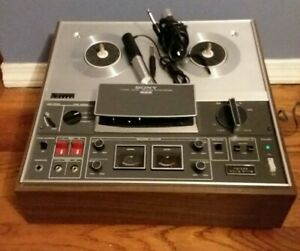 Vintage Sony TC-366 Three Head Stereo Reel to Reel Tapecorder Deck Recorder