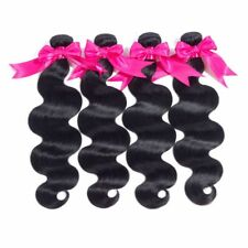 Brazilian Body Wave Virgin Remy Hair 4Bundles Human Hair Weaves 22 24 26 28Inch