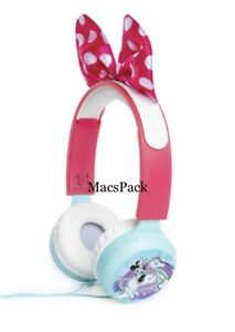 Minnie Mouse Kid Safe Wired Headphones Volume Limiting Birthday Gift