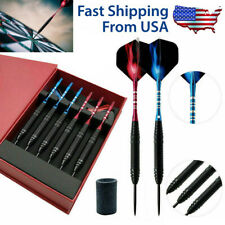 6 Pcs/Sets of Tungsten Hard Steel Tip Darts, Professional Games Competition