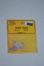 Wheel Works 96-107 Pick Up Truck Metal Model Kits N scale