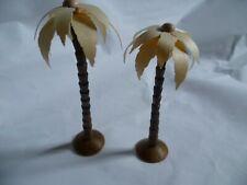 2 Palmen echte Handarbeit für Bestückung usw.  Erzgebirge Seiffen
