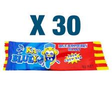 30 Ka-Bluey Blast Sour Chew Bars - Blue Raspberry | Candy Lollies Lolly Party