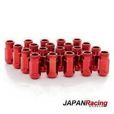Lug Nuts Japan Racing 12x1.25 Acciaio ROSSO (Steel Nuts Red)