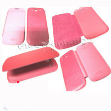 Front Flip Back Battery Cover Case For Samsung Galaxy S3 III i9300 Light Pink
