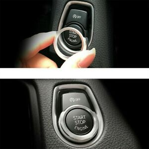 High Quality Button Decoration Cover Replacement 1 Pcs Car Start Button Ring